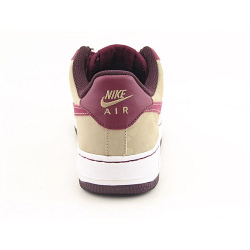 Nike Big Kids Air Force 1 Sneakers 314219 (162) Bianco / Profondo Granato-profondo Bordeaux-twd