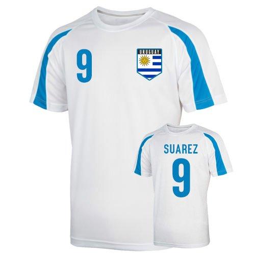 Uruguay Sports Training Jersey (suarez 9) Kids B01MT5VE90 XSB (3-4 Years)|White White XSB (3-4 Years)