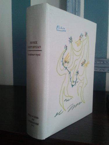 Le visiteur royal. Traduction de E. Cornet. Illustrations de H. David. Reliure orn'e d'un dessin original de Picasso. Editions Rombaldi. Prix Nobel. 1967. (Litt'rature, Danemark, Pays scandinaves)
