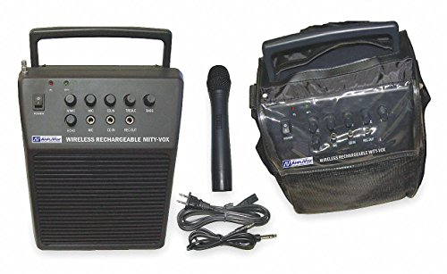 Amplivox Wireless Projector - Wireless Mity-Vox, Rechargeable