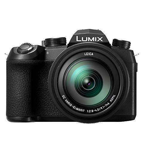 PANASONIC LUMIX FZ1000 II 20.1MP Digital Camera, 16x 25-400mm LEICA DC Lens, 4K Video, Optical Image Stabilizer and 3.0-inch Display – Point and Shoot Camera – DC-FZ1000M2 (Black)