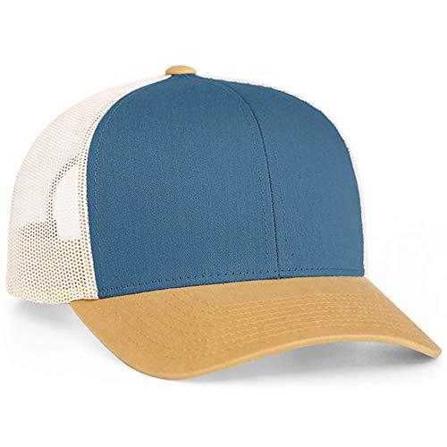 Pacific Headwear - 104C | Trucker Hat w/Adjustable Plastic Snapback Closure (12 Pack)