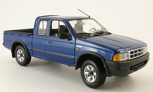 ford-ranger-metallic-blue-model-car-ready-made-action-performance-118