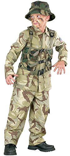 Marine Costume For Girls (Big Boys Delta Force Army Costume Medium)