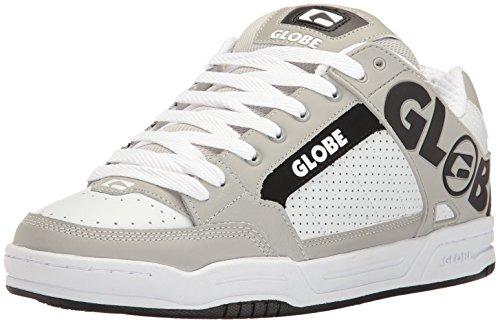 Globe Männer Tilt Skate Schuh Weiß / Grau / Schwarz