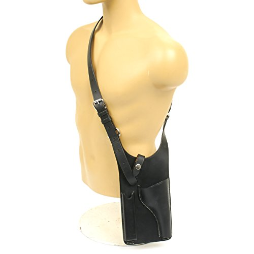 German WWII Panzer P08 Luger Black Leather Holster for sale  Delivered anywhere in USA