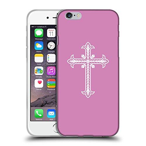 """GoGoMobile Coque de Protection TPU Silicone Case pour // Q09200618 Croix chrétienne 30 Bronze // Apple iPhone 6 PLUS 5.5"""""""