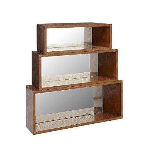 Wall Shelf (Set of 3) Clark/Pecan by Ink+Ivy