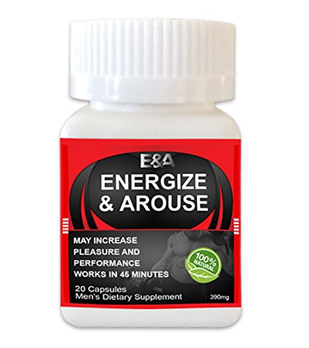 (Energize & Arouse Rapid Male Performance Enhancer, Energy & Endurance Supplement with exclusive ebook )