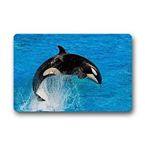 """Custom Whale Doormat Outdoor Indoor 18""""x30"""" about 46cmx76cm"""