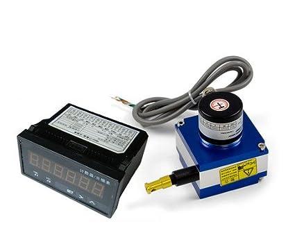 GOWE 1000 mm codificador lineal dibujar alambre cable de medidor de distancia transductor de movimiento con
