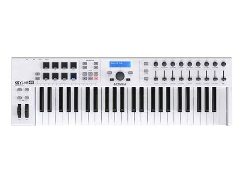 Arturia KeyLab Essential 49 Universal MIDI Controller and Software