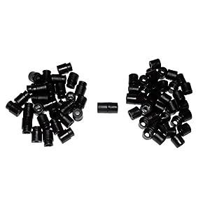 25 Pack of Black Breakaway Barrel Snap Buckles – Midwest Cord TM Brand Paracord Accessories
