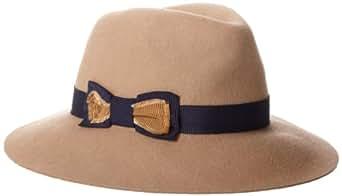 Genie by Eugenia Kim Women's Florence Fedora Hat, Camel, One Size