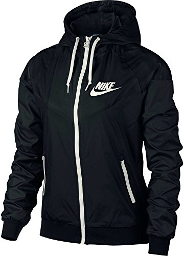 Nike Women's Sportswear Original Windrunner Jacket (Black, L) by NIKE