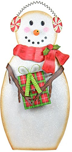 The Round Top Collection C16059 Earmuff Snowman