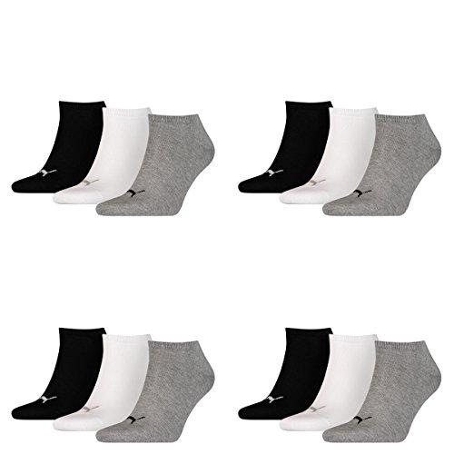 Puma Unisex Sneakers Socken Sportsocken 12er Pack