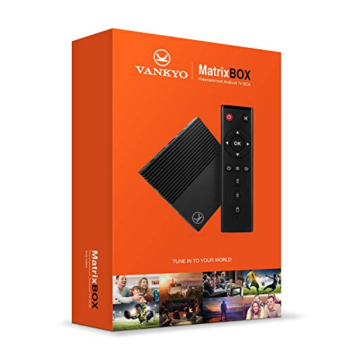 VANKYO MatrixBox X95 Max 4K Android 9.0 TV Box, Ultra HD 4GB RAM 32GB ROM TV Streaming Player w/Amlogic S905X2 64 Bits Quad Core Processor, H.265/2.4G/5GHz WiFi/USB3.0/BT4.2 Supported