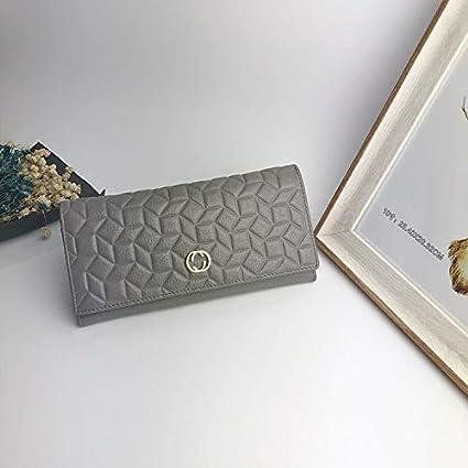 2e0aea9edb9e LanDream Women's Wallet Europe and The United States Fashion Atmosphere Long  Folding Coin Purse Fashion Clutch