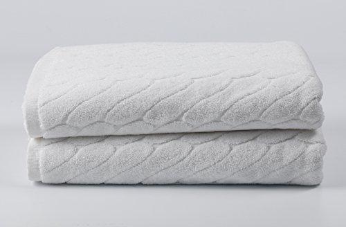 """Premium 100% Cotton Bath Towels 30"""" X 54""""  - Natural, Durabl"""
