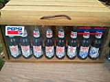 Rare 8 Bottle Executive Set With Wooden Display Case 1992 Fan Appreciation Tour Final Year As Driver Commemorative Longneck Pepsi Colas Richard Petty Pepsi