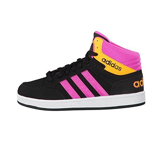 Adidas neo AW5093 Calzado deportivo Niño Negro-Naranja-Rosa