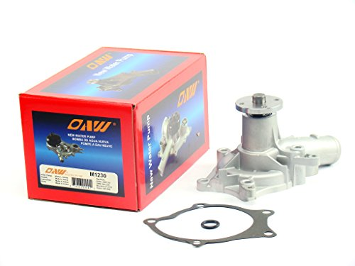 OAW M1230 Engine Water Pump for Dodge RAM 50 Mitsubishi Pickup Mighty Max Van 2.0L 2.4L 1983 - 1996