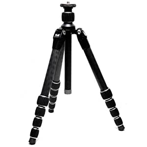 """FLM CP26-Travel Centerpod Carbon Tripod, Holds 26 Lbs, Extends to 55"""""""