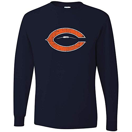 36 and Oh! Chicago C Football T Shirt Mens Vintage 2018 - Soft -