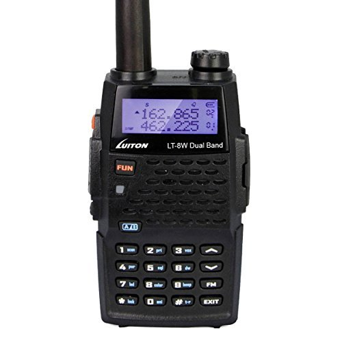 LUITON-LT-8W-Dual-Band-2-Way-Ham-Radio-VHF136-174MHz-UHF400-480MHz-High-Power-7Watts-Transceiver-Long-Distance-Amateur-Portable-Walkie-TalkieBlack