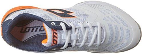 Lotto Esosphere Ii Alr, Zapatillas de Tenis para Hombre Blanco (Wht/blu Avi)