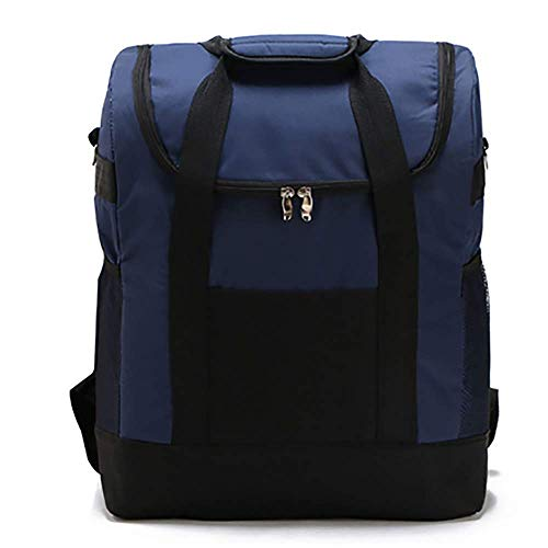 Cooler Backpack Large Insulated Lunch Backpack Lightweight Backpack with Cooler Compartment for Men Women to Work Picnic Hiking Beach Park or Daily Trips,Blue