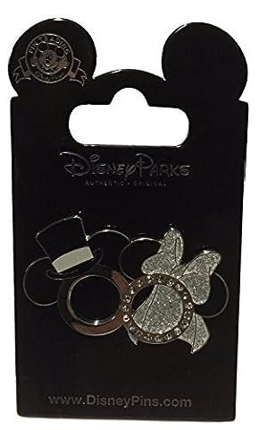 Disney Parks Mickey Minnie Wedding Rings Set Trading Pin (Disney Pin Grab Bag)