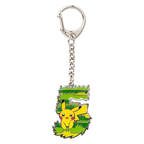 "Pokemon Center Original Keychain ""Whats your favorite number?"" [5]"