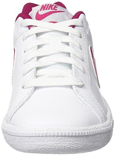 Nike Court Royale, Zapatillas para Mujer Blanco (White/sport Fuchsia/pure Platinum)