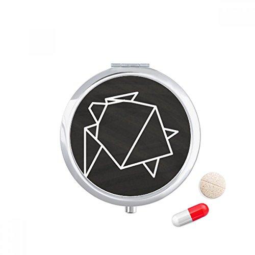 Kleine Origami Schachtel Pillbox Pillen Dose | Etsy | 500x500