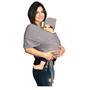 YogaBellies¨ UK Made Safety Certified Baby Sling Wrap | Super Soft 100% Organic Cotton Baby Wrap | Baby Carrier Newborn and Infants | Free Hat, Bag and EBook | Lifetime Guarantee | Ideal Gift