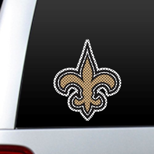 (NFL New Orleans Saints Die Cut Window Film)