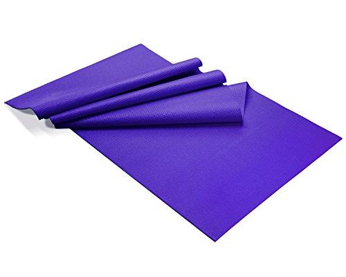 Yes4All Premium PVC Exercise Exclusive Yoga Mat, Purple