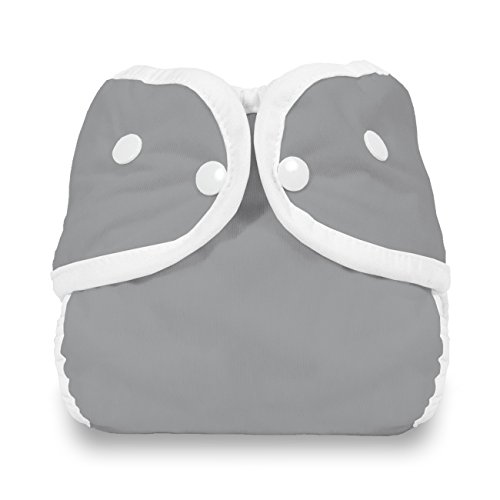 Thirsties Snap Diaper Cover, Fin, Large