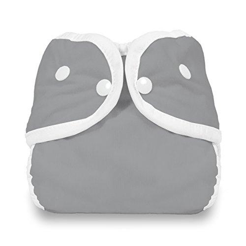 Thirsties Snap Diaper Cover, Fin, Medium ()