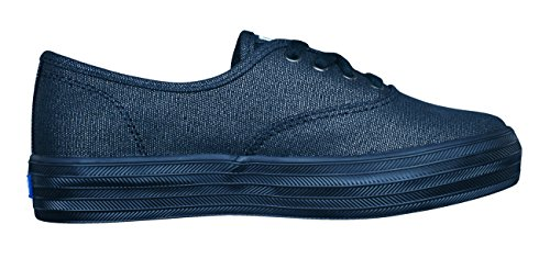 Baskets Lace Keds Wedge Black Cvo Triple Ke Girls Up 1twwq0Xx