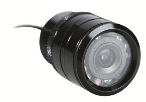 iBeam TE-THC Universal Through-hole Black Backup Camera