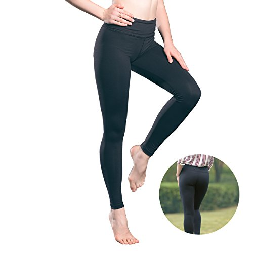 Avanlo Leggings For Women Yoga Pants Workout Legging Black