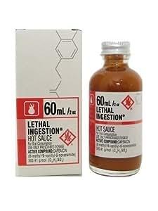 Cajohn's Lethal Injestion Bhut Jolokia Hot Sauce, 2oz.
