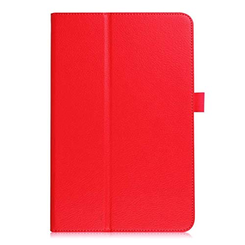 """Price comparison product image Samsung Galaxy Tab S4 10.5"""" Case,  PU Leather Ultra Slim-Shell Stand Cover Case with Auto Wake / Sleep Function for Samsung Galaxy Tab S4 10.5 inch (SM-T830 and SM-T835) 2018 Release Tablet,  Red"""
