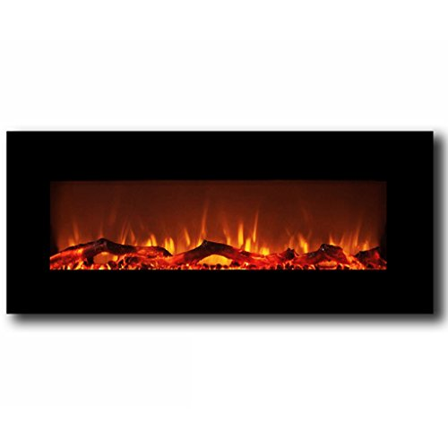 Regal Flame Ashford 50 Inch Black Ventless Heater Electric