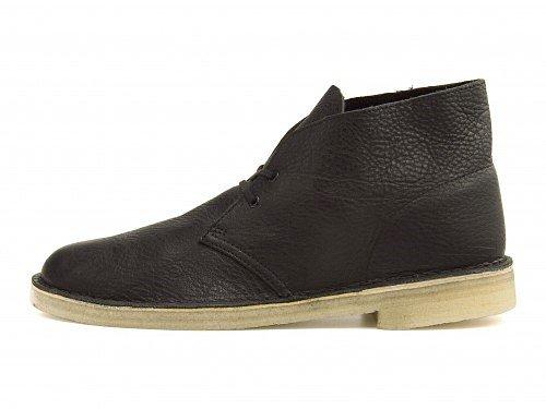 [クラークス] Clarks メンズ デザート ブーツ クレープソール クッション性 カジュアル デイリー ストリート DESERT BOOT 26109123 B01M32J2YV 26.5 cm|ブラックタンブルドレザー(10) ブラックタンブルドレザー(10) 26.5 cm