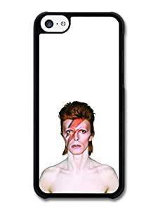 MMZ DIY PHONE CASEDavid Bowie Eyes Closed Lighting Portrait case for ipod touch 4