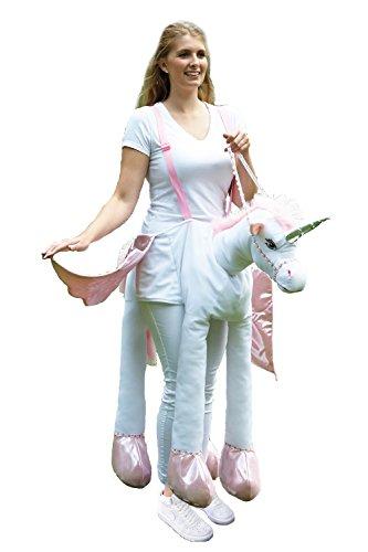 [Travis Ride On Unicorn Adult Size] (Ride On Pony Costume)